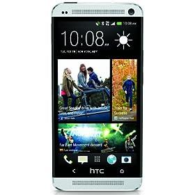 HTC One M7, Silver 32GB (Sprint)