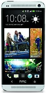 HTC One M7  32GB - Factory Unlocked, US Warranty - Silver (Unlocked)