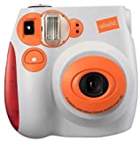 FUJIFILM チェキ instax mini 7 インスタントカメラ オレンジ instax mini 7 オレンジ