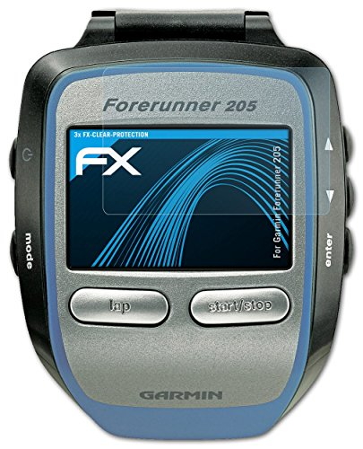 3-x-atfolix-screen-protection-film-garmin-forerunner-205-screen-protector-fx-clear-crystal-clear