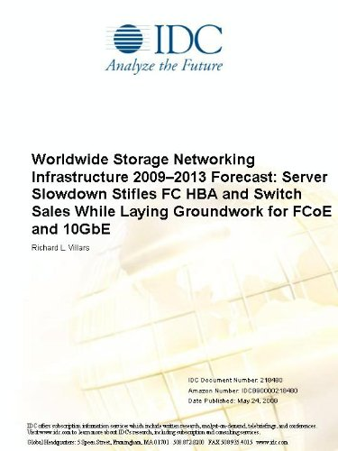 Worldwide Storage Networking Infrastructure 2009-2013 Forecast: Server Slowdown Stifles FC HBA and Switch Sales While Laying Groundwork for FCoE and 10GbE
