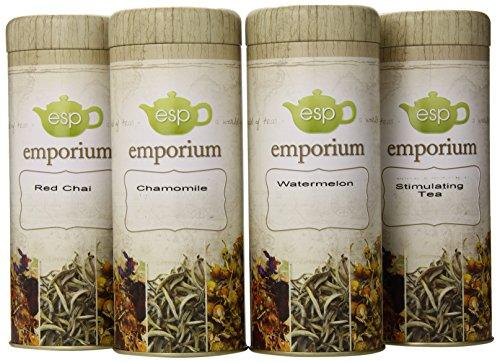 ESP Emporium Tea Gift Pack, Caffeine-Free, 4 Count (Esp Gift Package compare prices)