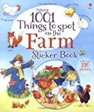Gillian Doherty 1001 Things to Spot on the Farm Sticker Book (Usborne 1001 Things to Spot sticker books)