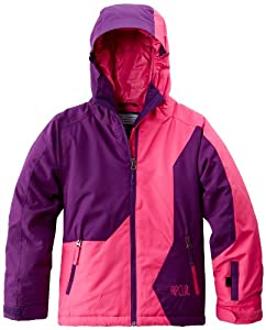Rip Curl Contorsia Girls' Snow Jacket rose Fuchsia Rose Size:FR : 10 ans (Taille Fabricant : 10)