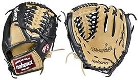 Nokona BL-1150M-SAND Bloodline Series Sandstone 11 1/2 inch Infielder Baseball Glove