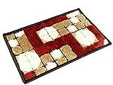 Lionsland Anti-Skid Floor Mat Premium Quality Micro Fiber Soft Large Mat Standard Size:-40x60 cm