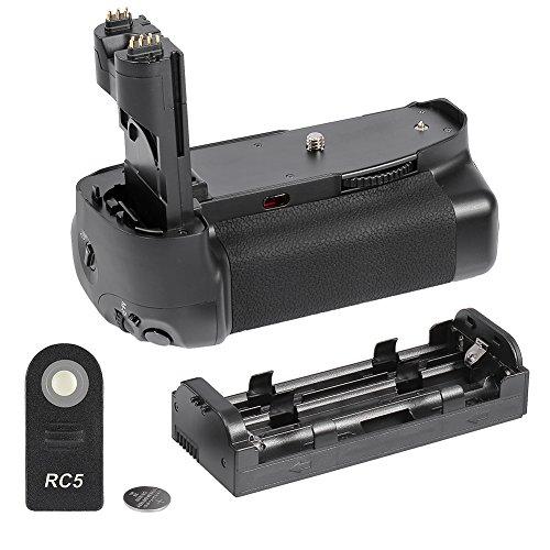 Neewer Poignée d'alimentation verticale à écran LCD pour appareil photo numérique Canon EOS 7D BG-E7/LP-E6