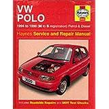 VW Polo (1994-99) Service and Repair Manual (Haynes Service and Repair Manuals)by R. M. Jex