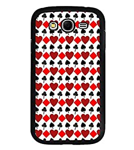 Playing card symbols Back Case Cover for SAMSUNG GALAXY GRAND I9082