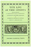Ab Urbe Condita: Volume IV: Books XXVI-XXX (Oxford Classical Texts) (Bks.26-30) (019814623X) by Livy