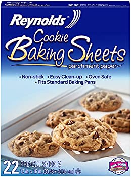 Reynolds Cookie Baking Sheets Parchment Paper (22 Sheets)