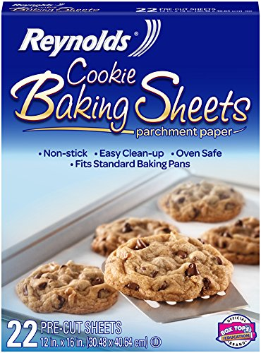 Reynolds Cookie Baking Sheets Non-Stick Parchment Paper (22 Sheets)