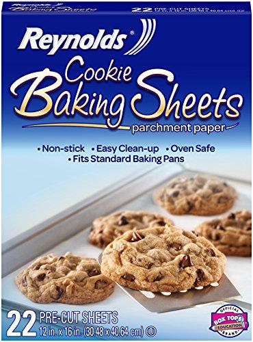 Reynolds Cookie Baking Sheets Non-Stick Parchment Paper (22 Sheets)