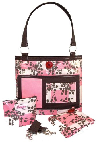 2 Red Hens Whole Roost Cotton Candy Diaper Bag