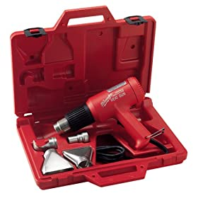Milwaukee 8980 11.6 Amp 570/1000 Degree Fahrenheit Dual Temperature Heat Gun Kit