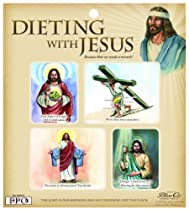 Blue Q Dieting With Jesus Magnet Set