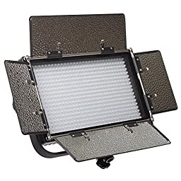 IFB576 Featherweight Bi-color LED Light w/ AB & V-Mount Plates.