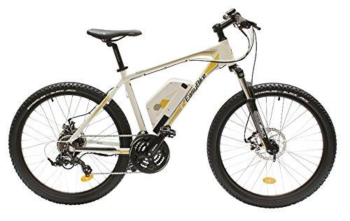 EASYBIKE E-Bike Elektofahrrad M3 650 26 Zoll Bereifung 11Ah 396Wh E-Mountainbike schwarz/weiß Modell 2014