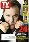 img - for TV Guide January 18 2010 Kiefer Sutherland/24 on Cover, Spartacus on Starz, Battlestar Galactica Prequel Caprica, Regina King/Southland, Linus Roache/Law & Order, People's Choice Awards book / textbook / text book