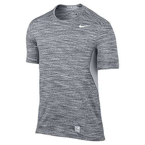 Nike Pro Hypercool Men's Space Dye Fitted Training Shirt (Large)