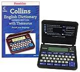 Franklin DMQ119 Collins Dictionary & Thesaurus