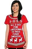 Fugly Christmas Sweater Tee