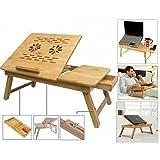 Anva Adjustable Laptop Table, Portable Laptop Desk, Portable Laptop Table, Portable Multipurpose Laptop Table,...