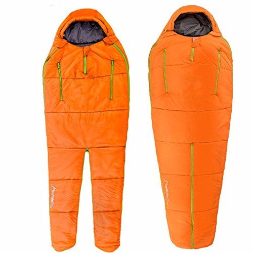 CAMTOA Portatile Sacco a Pelo Umano-Forma ,Ultra Leggero Sacchi a pelo Sleeping Bag - Facile da Trasportare Per Trekking/ Campeggio/ Arrampicata /Viaggio/ All'aperto & Indoor Uso