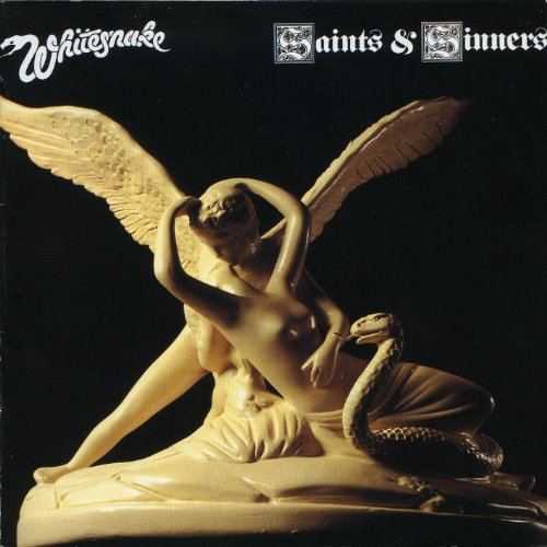 Original album cover of Saints & Sinners by WHITESNAKE
