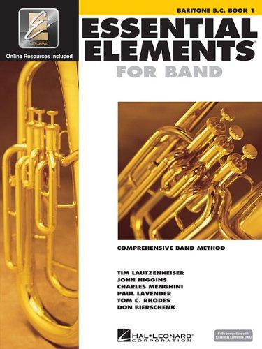 Essential Elements 2000, Book 1 Plus DVD: Baritone (B.C.)