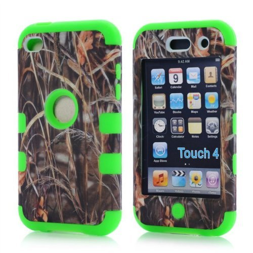Touch 4 Cases, Touch 4 case,touch 4.case,Gotida 3 in 1 hard front back cover skin case for Touch 4 4g cardphone case