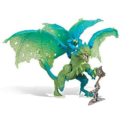 Amazon.com: Mega Bloks Plasma Dragons Fangrene Acid Dragon #9409