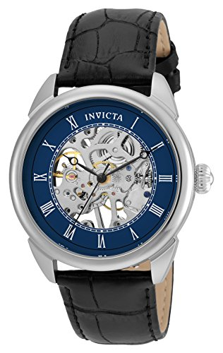 invicta-specialty-mens-mechanical-watch-with-blue-dial-analogue-display-and-black-leather-strap-2353