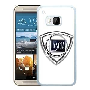 Amazon.com: HTC ONE M9 Lancia logo White Screen Cover Case Genuine and