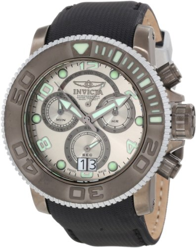 Invicta Men's 10720 Sea Hunter Chronograph Silver Grey Dial Watch Picture
