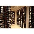 WS3 Platinum Series 18 Bottle Wall Mounted Wine Rack
