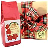 Kona Blend Christmas Coffee Gift Box, 8 Oz Ground, for Christmas, All Occasion