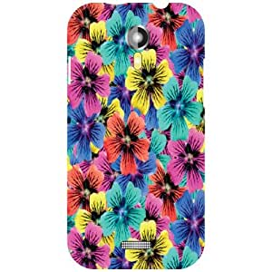 Micromax A117 Canvas Magnus Back Cover - Flowers Designer Cases