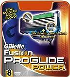 Gillette Fusion Proglide Power 8-pack Razor blades 100% ORIGINAL Genuine
