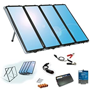 Sunforce 50048 60-Watt Solar Charging Kit with Built-in Blocking Diode