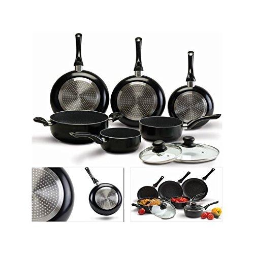 probache-batterie-de-cuisine-8-pcs-pierre-noir-avec-casserole-poele-couvercle