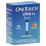 OneTouch Ultra Test Strips, Blue, 25 ct.