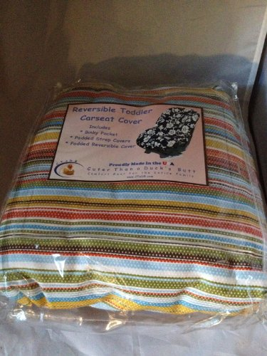 Reversible Toddler Carseat Cover