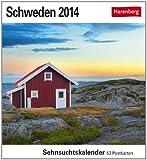 Schweden 2014: Sehnsuchts-Kalender. 53 heraustrennbare Farbpostkarten