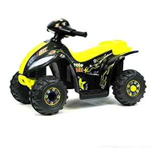 EZ Riders 4 Wheeler Battery Operated Mini ATV - Black