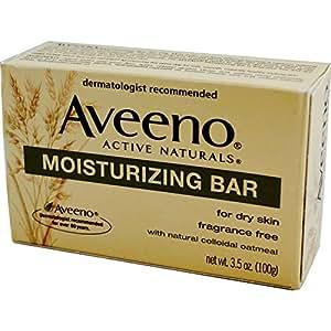 Amazon.com : Aveeno, Active Naturals, Moisturizing Bar, Fragrance Free