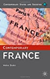 img - for Contemporary France (Contemporary States and Societies Series) by Drake, Helen (2011) Paperback book / textbook / text book