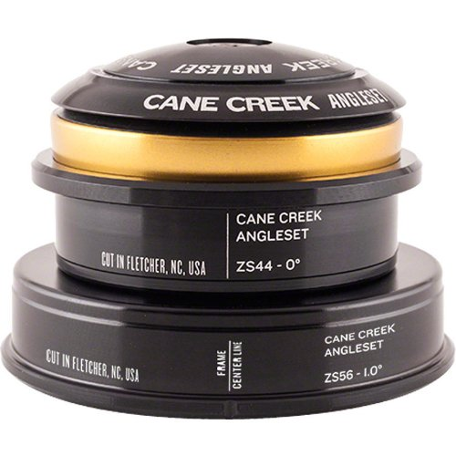 Cane Creek Angleset Tapered Zs44-Zs56/30 Kit, Black