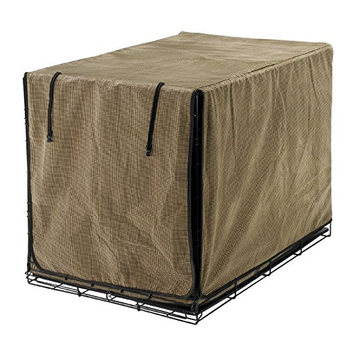 Luxury Diamond-Microfiber Crate Cover