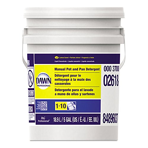 Dawn 8077 PGC02618 Manual Pot and Pan Dish Detergent, Lemon Scent, Liquid, 5 gal. Pail (Five Gallon Pot And Pan Detergent compare prices)